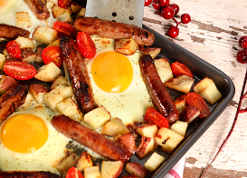 Sun's Up Sausage and Egg Bake