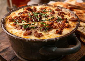 Hot Italian Sausage Party Dip