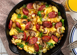 Sausage and Egg Scramble