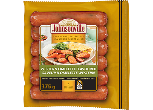 Smoked Western Omelette Breakfast Sausage