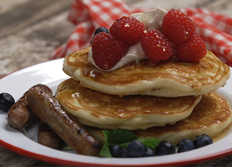 Cowtown Stuffed Griddle Cakes
