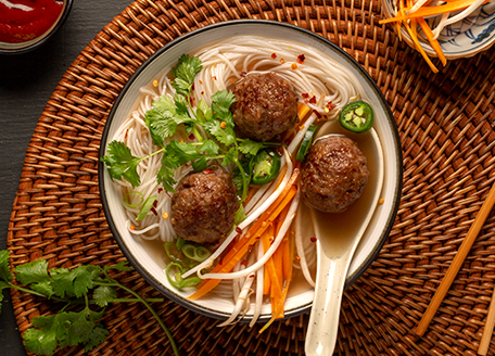 Pho-Inspired Pork and Noodle Soup
