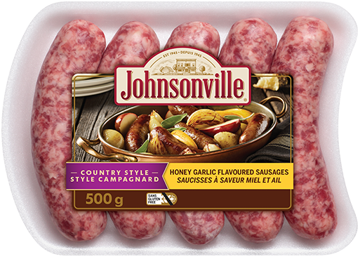 Country Style Honey Garlic Flavoured Sausages