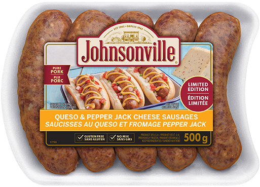 Queso & Pepper Jack Cheese Sausages