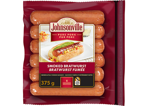 Smoked Bratwurst Sausages