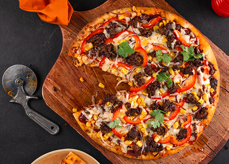 BBQ Tex-Mex Sausage Pizza