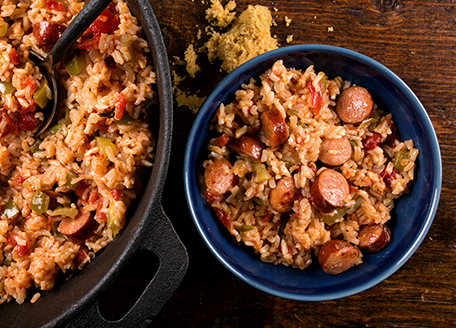 Johnsonville Jambalaya with Andouille Sausage