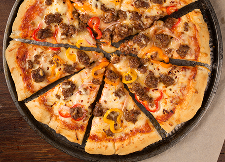 Spicy Sausage Pizza