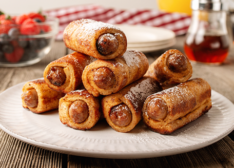 Breakfast Sausage Roll Ups