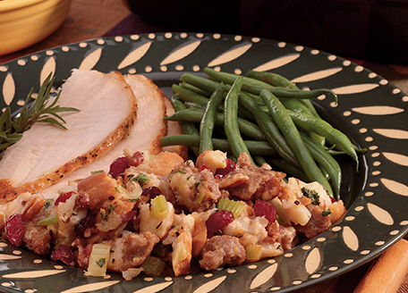 Sausage, Pecan and Cranberry Stuffing