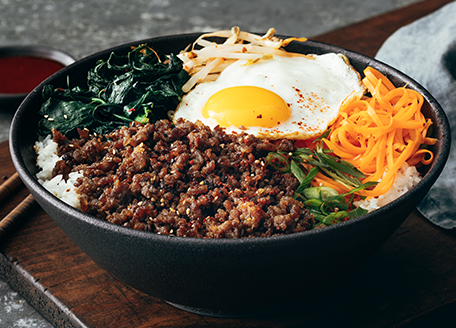 Caramelized Pork Bibimbap