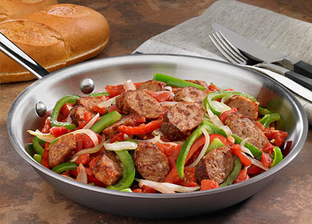 Italian Sausage, Onions & Peppers