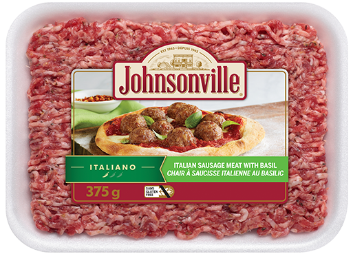 Italian Sausage Meat with Basil