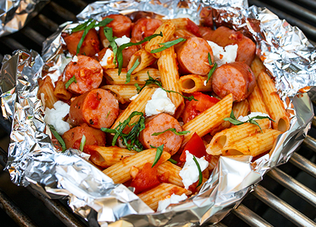 Sausage Pasta Grill Packs
